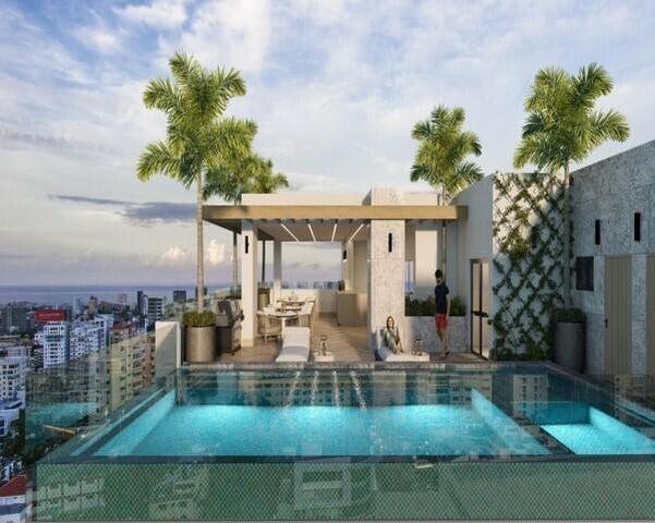 Apartamento Santo Domingo>Distrito Nacional>Evaristo Morales - Venta:155.000 Dolares - codigo: 22-595