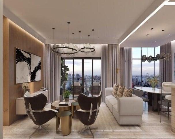Apartamento Santo Domingo>Distrito Nacional>Evaristo Morales - Venta:180.000 Dolares - codigo: 22-598