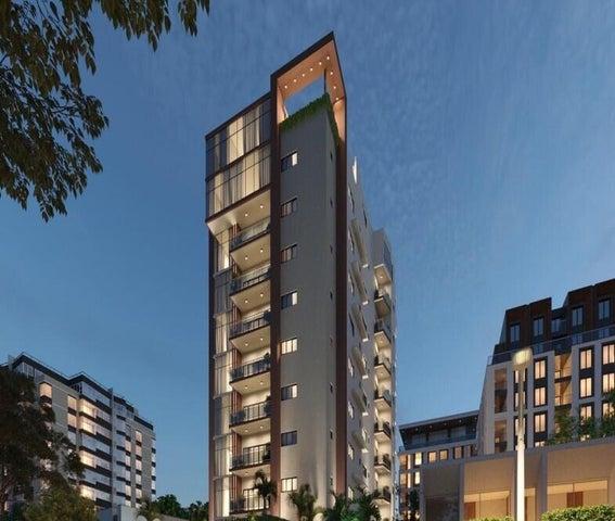 Apartamento Santo Domingo>Distrito Nacional>Evaristo Morales - Venta:143.000 Dolares - codigo: 22-604
