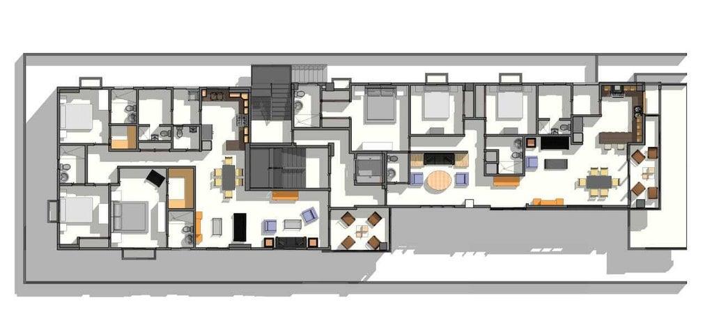 Apartamento Santo Domingo>Santo domingo Este>Ozama - Venta:160.000 Dolares - codigo: 22-607
