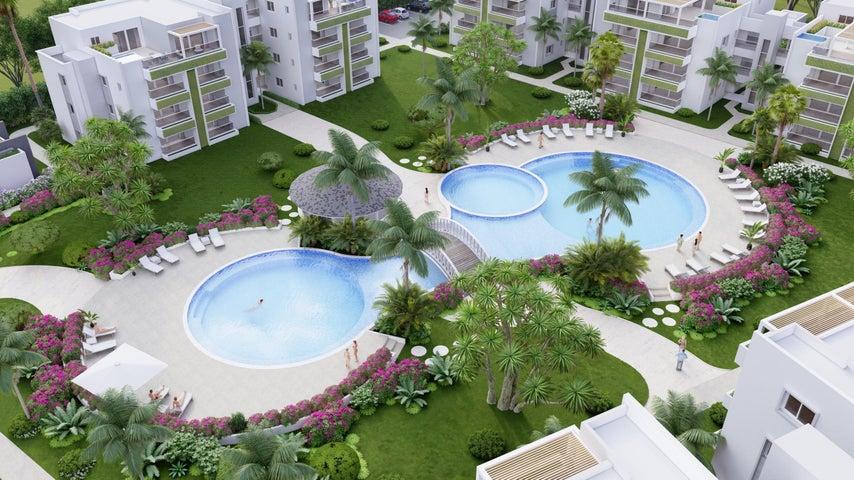 Apartamento La Romana>Bahahibe>Bahahibe - Venta:179.000 Dolares - codigo: 22-611
