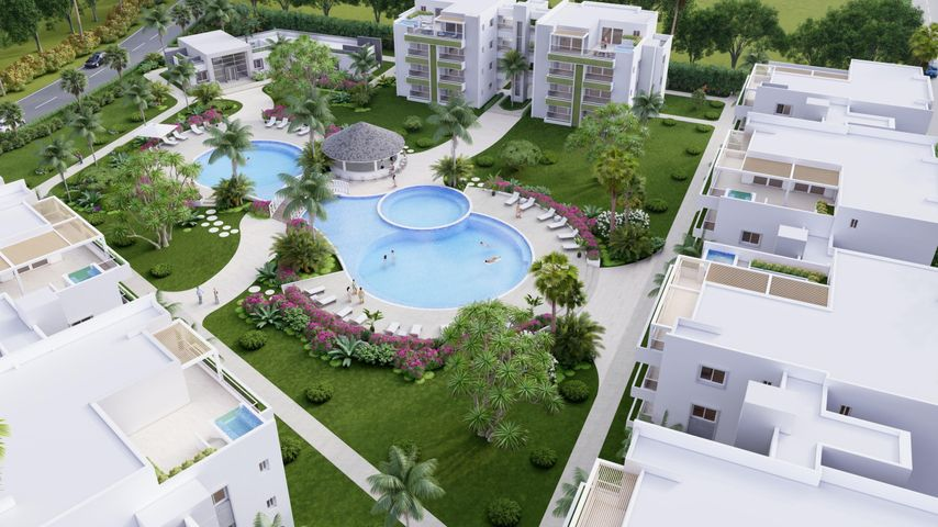 Apartamento La Romana>Bahahibe>Bahahibe - Venta:220.000 Dolares - codigo: 22-612