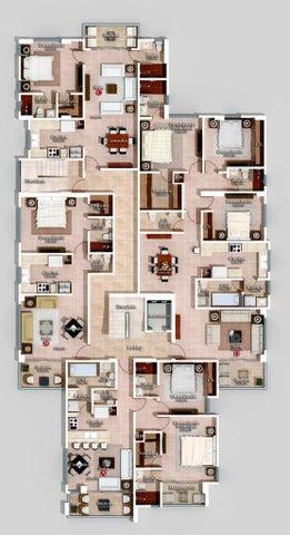 Apartamento Santo Domingo>Distrito Nacional>Bella Vista - Venta:113.040 Dolares - codigo: 22-620