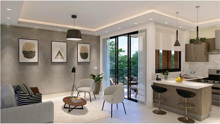 Apartamento Santo Domingo>Distrito Nacional>El Millon - Venta:156.849 Dolares - codigo: 22-629