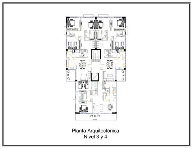 Apartamento Santo Domingo>Distrito Nacional>El Millon - Venta:98.000 Dolares - codigo: 22-631
