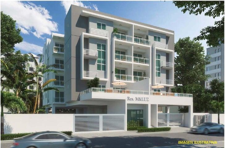 Apartamento Santo Domingo>Distrito Nacional>Los Cacicazgos - Venta:172.500 Dolares - codigo: 22-636