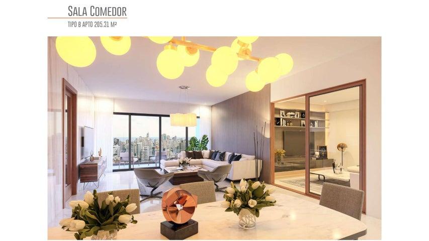 Apartamento Santo Domingo>Distrito Nacional>Bella Vista - Venta:315.000 Dolares - codigo: 22-637