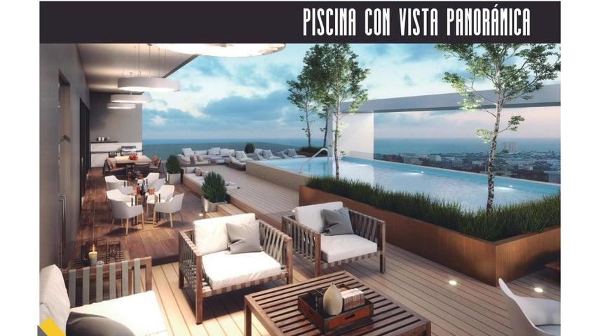 Apartamento Santo Domingo>Distrito Nacional>Bella Vista - Venta:318.000 Dolares - codigo: 22-638