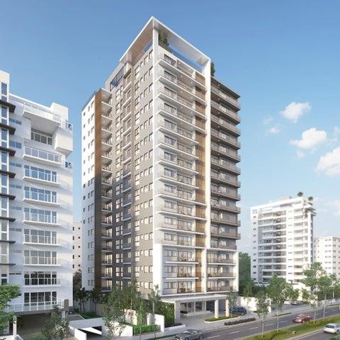 Apartamento Santo Domingo>Distrito Nacional>Bella Vista - Venta:375.000 Dolares - codigo: 22-640