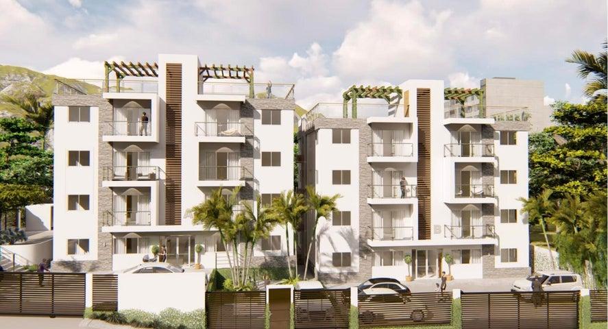 Apartamento Santo Domingo>Santo Domingo Norte>Colinas del Arroyo - Venta:59.500 Dolares - codigo: 22-686