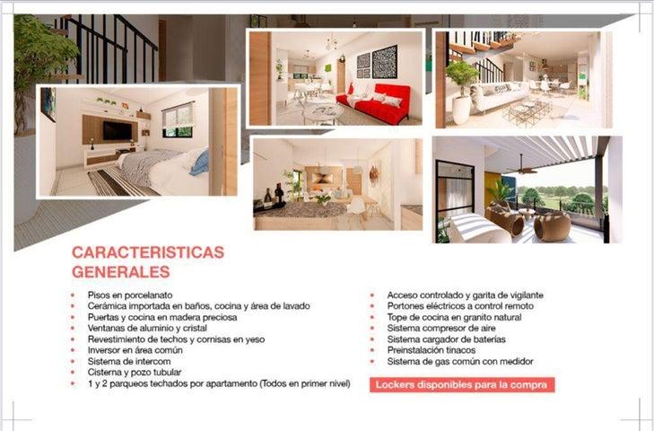 Apartamento Santo Domingo>Santo domingo Este>San Isidro - Venta:104.386 Dolares - codigo: 22-696