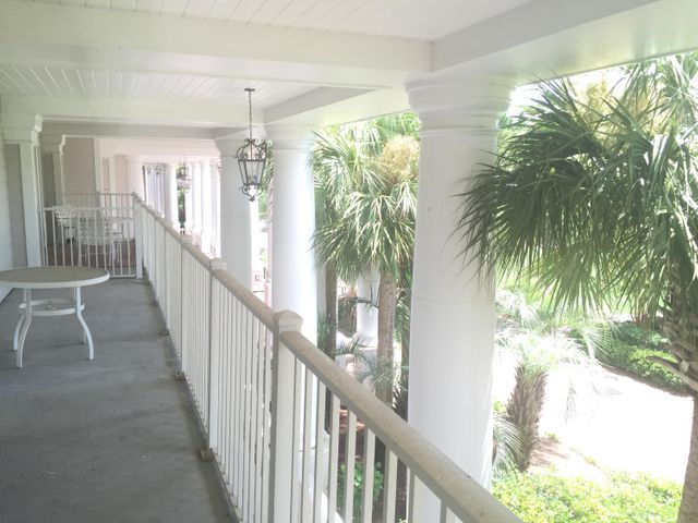 Largest balcony on its level