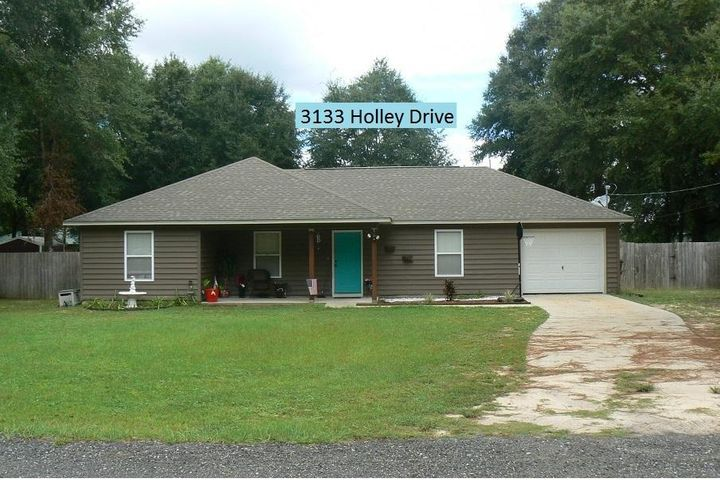 3133 HOLLEY Drive, Crestview, FL 32539