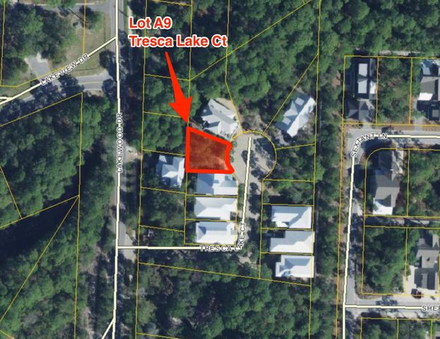 LOT A9 TRESCA LAKE Court, Santa Rosa Beach, FL 32459