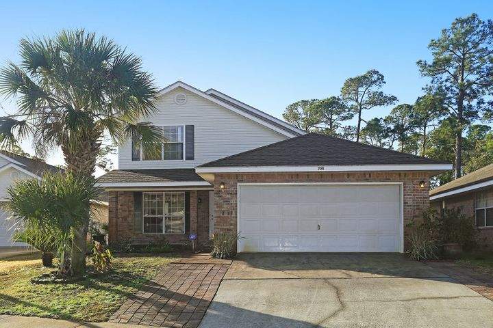 GREAT FLOOR PLAN & WATER VIEWS! This 4 bedroom and 2.5 bath home is conveniently located within 3 miles west of the Hurlburt Field Air Force Base. Enjoy beautiful water and sunset views from this two story and 2,135 sq ft property that sits by the Santa Rosa Sound. On the first floor the master suite features walk-in closet, double vanity and garden tub. This quiet Marsh Harbor community has a neighborhood boardwalk to the beach for endless relaxation!