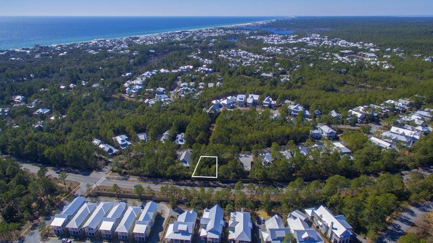 Aerial View of Homesite