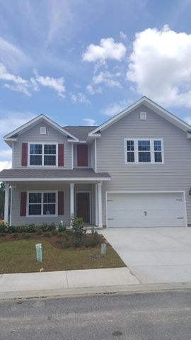 Front of this beautiful Embry floor plan