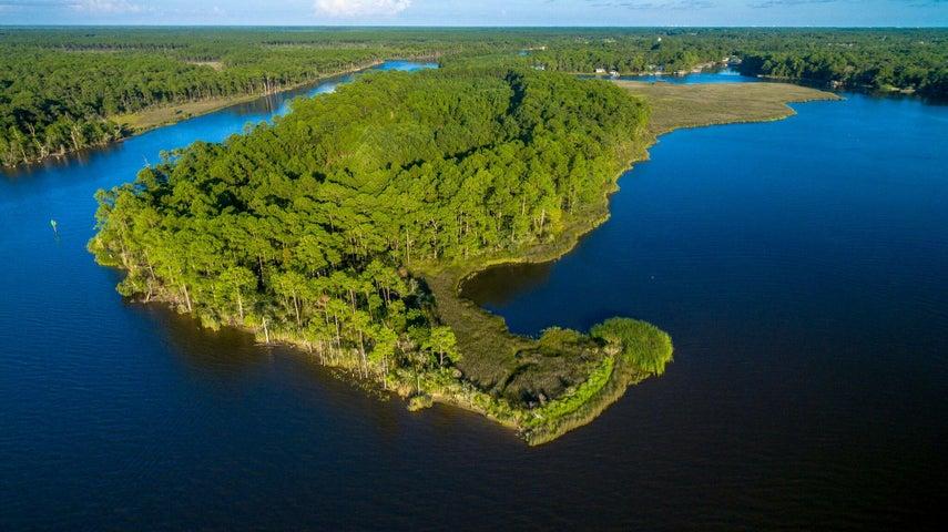 000 Private Island on Tucker Bayou, Santa Rosa Beach, FL 32459