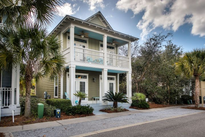 Within 1/2 mile to deeded beach access and overlooking palm tree lined streets. You've found the lowest-priced home in all of Seacrest Beach!
