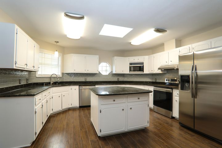 Renovated kitchen with granite counter tops and Stainless Steel Appliances