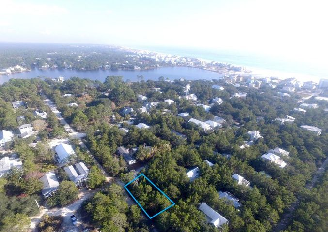 South of 30A and close to the beach! No build-out restrictions.