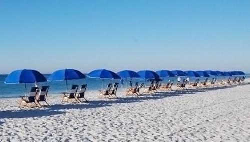 Beach Service on Site