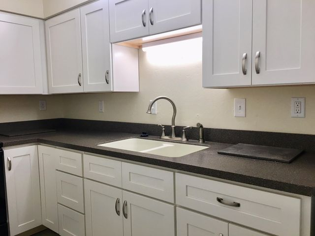 Beautiful New White Cabinets and Hardware/fixtures