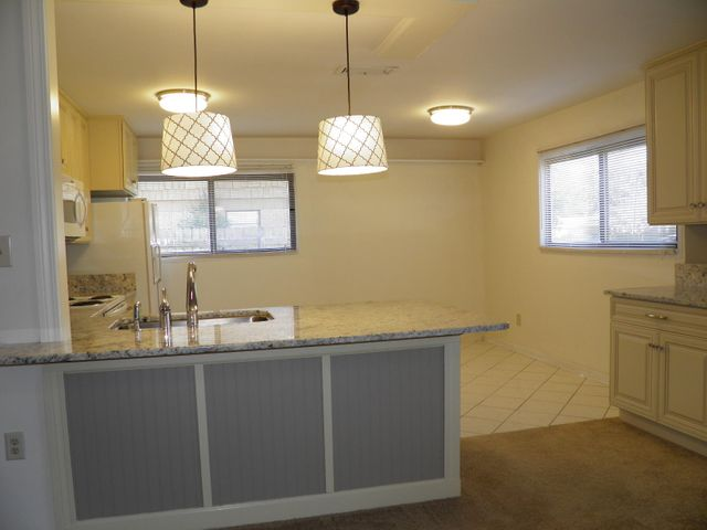 Wonderful Eat In Kitchen with Granite and New Cabinetry