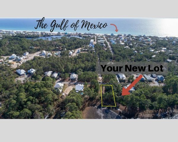 Ariel View of Lot 32 and Gulf Of Mexico