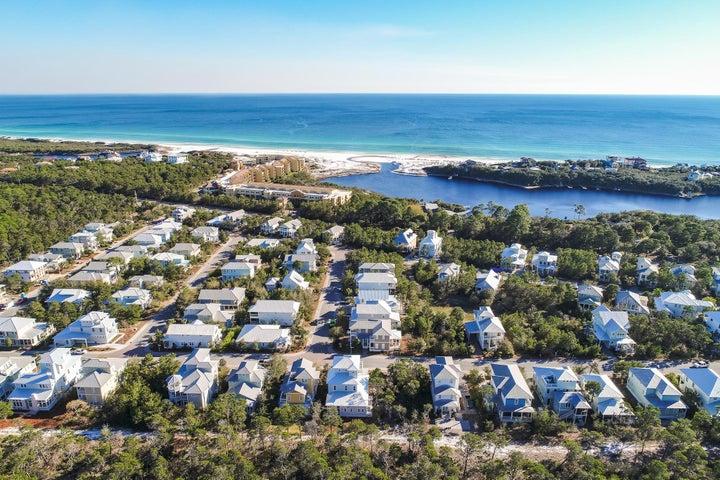 Prime location close to the beautiful Gulf of Mexico and rare coastal dune lake!