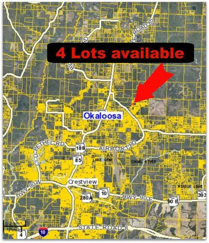 Lot J Possum Ridge Road, Crestview, FL 32539
