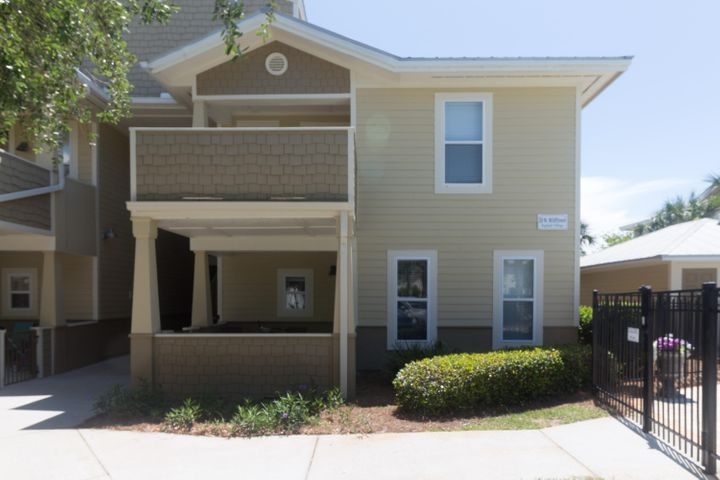 This ground floor 2 Bedrooms 2 Baths unit with granite countertops and new laminate flooring is beautifully decorated and offered furnished.  Located steps from the pool and less than 1 mile from the beach. Topsail Village Condo backs up to Pt. Washington State Forest.  Restaurants, shopping, and dining are close by on 30A or a quick jaunt to Sandestin for even more entertainment. This condo is well-maintained getaway that will make anyone a great home or vacation rental. ***Buyer is responsible for personally verifying details about this property. Any information contained in this listing is believed to be accurate but is not guaranteed. ***