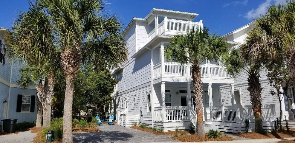 60 The Greenway Loop. Quiet street one house from Rosemary Beach!