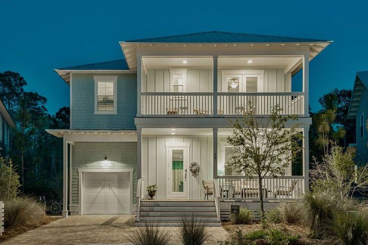 CDD bond paid in full..FURNISHED High-quality construction home in Naturewalk. EXCELLENT INVESTMENT OPPORTUNITY, there is $70,000 in gross rental revenue booked for 2018 w/room for more! This new home offers 3039 sq ft, 4 bed/4.5 baths, loft, 1 car garage and owner's lock out. Features include 2nd floor porch off of loft overlooking preserve, 2 laundry rooms, coffered ceiling in dining rm. The kitchen includes Limestone grey cabinets, built in Cafe appliances with GE Monogram Chimney hood, large kitchen island w/bookcase and wine rack, butler's pantry w/bev refrigerator. 5'' Oak, wire brushed floors throughout. Quiet street with pond in front and preserve behind the home and still walking distance to The Gathering Place: amenity rich with pick-up/drop off shuttle service. NatureWalk, nestled between protected borders of the state forest, adjacent to WaterColor, Seaside, and the heart of 30A.