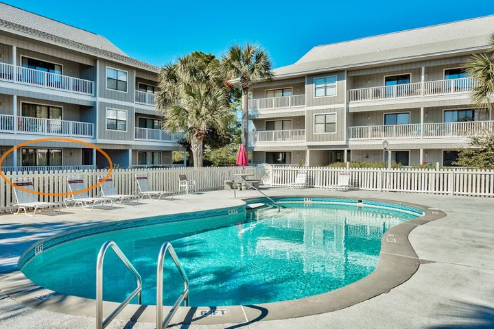 Poolside 1st floor furnished condo! Excellent price point