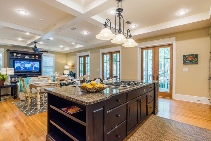 Kitchen - with Large Center Island