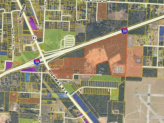 221 acre Vacant Parcel at the corner of Hwy 87 South and Interstate 10, great area for commercial or residential development