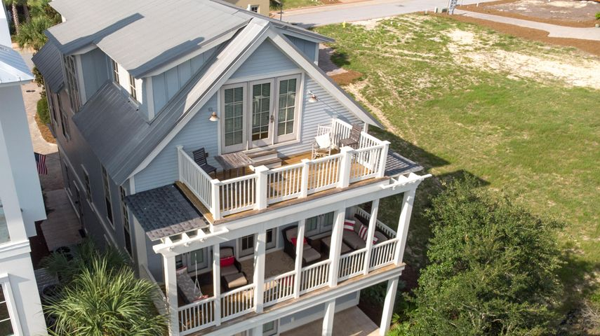 Top Balcony leads to 3rd Floor Master Suite w/most INCREDIBLE Gulf Views!