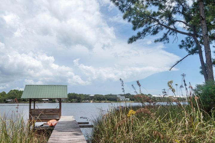Kayak or paddle to the Gulf of Mexico from your private dock.