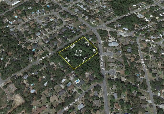 2.75 Acres Sibert Avenue, Destin, FL 32541