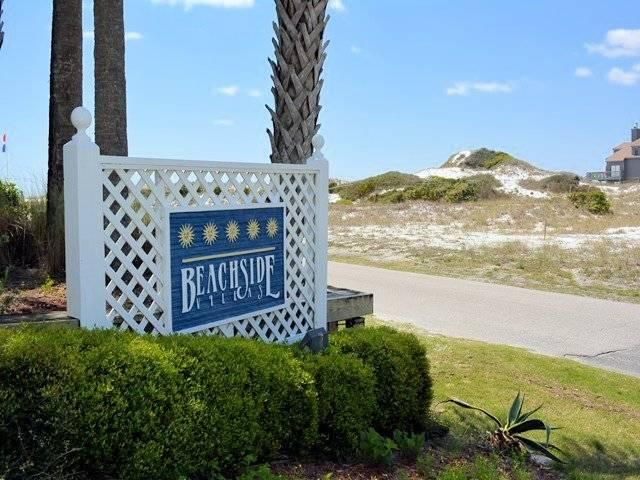 EASY Show Beginning Monday April 8th!  As of right now completely open to show.  Cute unit at Beachside Villas close to beach access with Gulf views from the balcony.  New glass in windows and in sliding glass door in living room.  The unit is being sold fully furnished and rental ready. Tile throughout the kitchen and bathrooms, carpet in the bedrooms, with updated flooring in the living area along with brand new furniture in living room. Beachside Villas is a well maintained complex with two pools, lighted tennis courts, and  very close to the nearest beach access. This part of Seagrove south of 30-A offers a relaxing atmosphere while being situated only a short stroll or bike ride to all of the shopping and dining Seagrove has to offer.