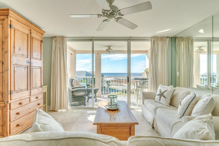 Breathtaking views of the Gulf of Mexico and East Pass from your own balcony. A stunning 4th floor dream with picturesque coastal views from the living room and master. Nestled in one of the most esteemed waterfront communities of Destin. This is coastal life at its finest!
