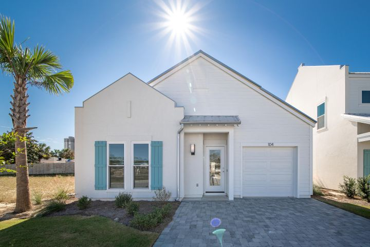 TWO SHORT BLOCKS TO THE BEACH! In the heart of Panama City Beach but secluded from all the hustle and bustle, Shorewalk is a gated 21 home oasis buffered from the outside world. Conveniently located off 79 (S. Arnold Rd) and SOUTH of 98 heading east on Innocente Ave! (Note these homes are in PCB Bay Co. map directions may take you to neighboring Walton Co. by mistake!) These West Indies style homes offer a relaxing lifestyle and mingle-friendly greenspace and refreshing pool. All 3 models feature 1st floor master and luxury details with an opportunity to select interior finishes. Low HOA with gorgeous pool and complete grounds keeping included. Built with 2x6 anchored walls and hurricane impact windows and doors. SHORT-TERM RENTALS ALLOWED! Model home open daily.