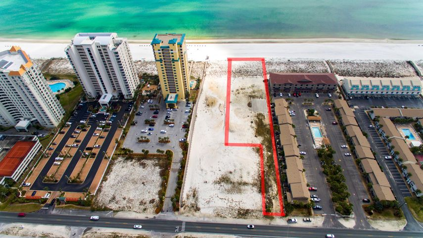 Incredible opportunity to own the last piece of commercial property on Navarre Beach. 140 linear feet of beach front at the Coastal Construction Control Line. Endless possibilities and favorable time to be part of this up and coming area.