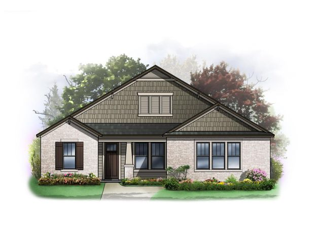 this is the craftsman elevation.