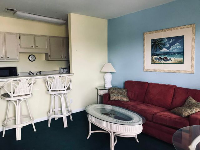 Living Room & Full Kitchen w/ Breakfast Bar