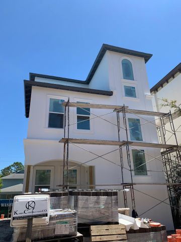 Stucco and exterior color - Finished