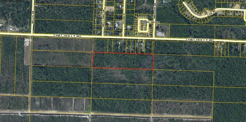 Lot 34 10 Acres Off Chat Holly, Santa Rosa Beach, FL 32459