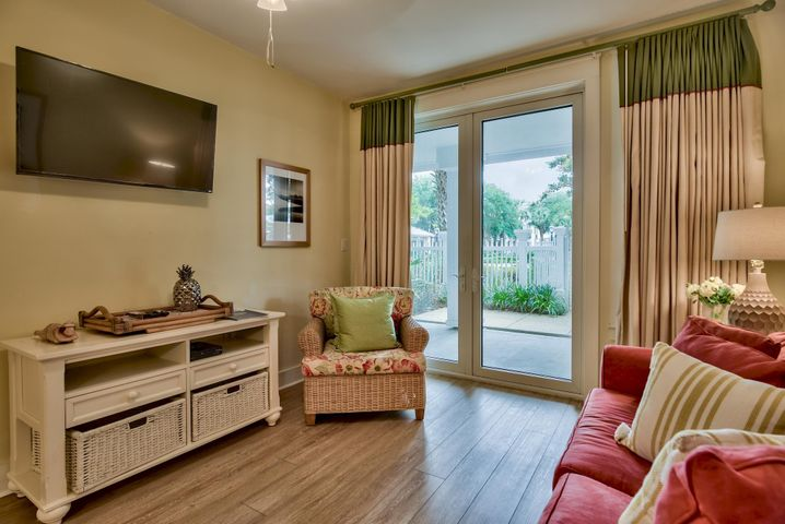 This cozy one bedroom condo in the heart of Sandestin is a fantastic find! Located on the amenity level of Pilot House, the pool, hot tub, children's pool, grilling area, and more are right outside of your back door! The large windows in the back of the unit overlook the pool terrace and allow for abundant natural lighting, providing a refreshing respite from days filled with conference meetings or vacation fun. It is situated amidst the action and entertainment of the Village of Baytowne Wharf, a short stroll to the popular Conference Center, and close to the 113 slip marina, 5-star golf courses, world class tennis, and the many other fantastic amenities Sandestin Golf and Beach Resort has to offer. Its prime location makes it a perfect fit for both business and pleasure travelers, increasing its rental potential and making it a great personal retreat. Pilot House owners also have access to the Founder's Club, a private owners' facility with a media center, billiards, a spacious lounge, and panoramic views from the exterior deck overlooking the Baytowne Wharf Stage. Grand Boulevard with its sprawling entertainment options is just a golf cart or bike ride away. The condo is being sold fully furnished, and would make a fantastic relaxing home, beach retreat, or income producing rental property. Come enjoy all the many things Sandestin has to offer!
