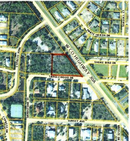 lot 1 & 2 W Co Hwy 30A Avenue, two lots, Santa Rosa Beach, FL 32459